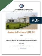 IMU Academic Brochure 2017-18