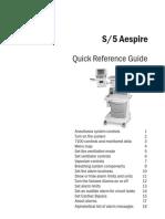 Datex Aespire - Kurzanleitung