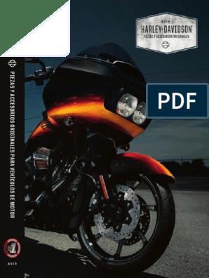 Intermitentes placas de montaje negro Harley Davidson cubierta HD placas