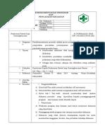 1.2.5.2a. SOP Dokumentasi Prosedur Dan Pencatatan Kegiatan