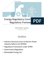 ERC Regulatory Framework