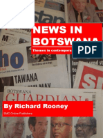 News in Botswana by Richard Rooney