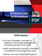 Introducing ECRI Institute.pptx