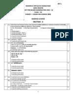 1st Pre-board c.s. Marking Scheme Set-1