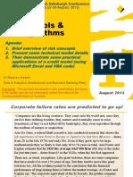 Estimation of Probability of Defaults (PD) for Low Default Portfolios an Actuarial Approach