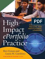 High Impact EPortfolio