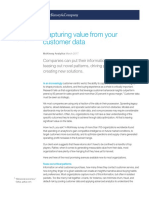 5 Capturing Value From Your Customer Data