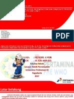 Kerja Praktek PT.Pertamina PHE WMO