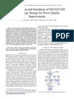 Control Design and Simulation of DSTATCO