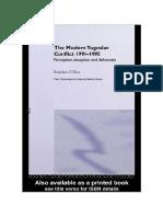 Brendan O Shea the Modern Yugoslav Conflict 1991 1995