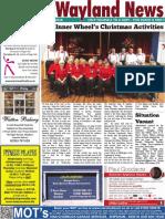 The Wayland News January 2018
