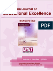 Jurnal de Exelenta Educationala