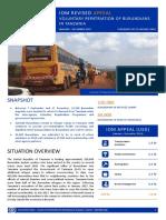 IOM REVISED APPEAL-Voluntary Repatriation of Burundians in Tanzania