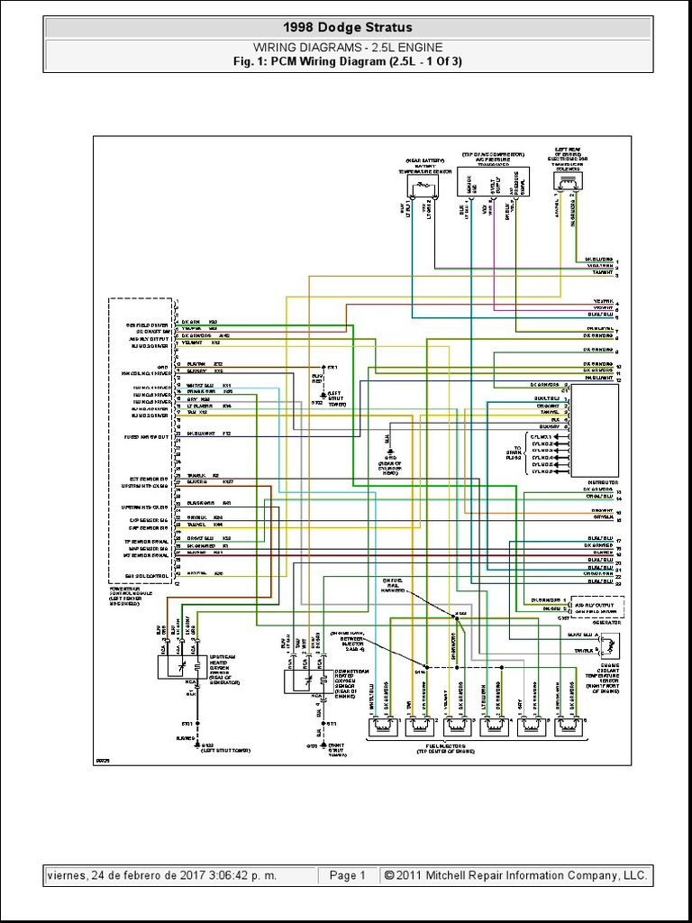 dodge stratus 2 5lt-1  2006 dodge wiring diagram wiring