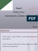 Tema-3-Estructura y Gestores de La Op (Completo) - Opinión pública URJC