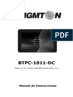 Manual Tablet Digital Brigmton Btpc 1011dc 2091-5