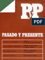 Cuadernos Pasado y Presente- Nº1 abr-junio 1973
