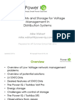 API Lv Statcoms and Storage for Voltage Management Mike w