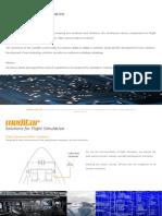 Solutions for Flight Simulation