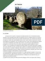 Estelas Discoidales Vascas - Hilarriak Cruces Funerarias