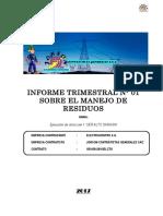 Informe de Gestión de Residuos