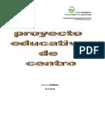 Proyecto Educativo 2017-18