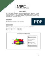 ANPIC La Feria de América - Resultados del evento 2006