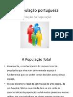 A PopulaÇÃO  Portuguesa 130311105230 Phpapp02