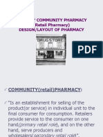 Pharmacy Design Layout