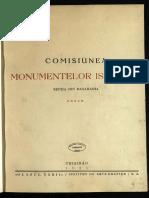 C.M.I._Sectia din Basarabia_Anuar 1924_Vol. I
