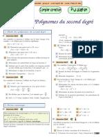 Chingatome-Première S-Polynomes Du Second Degré