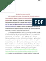 david rhea - research paper