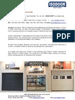 Isodoor Company Profile
