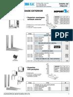 Preços de equipamentos e acessórios