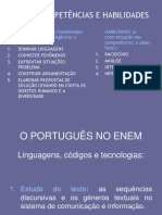 O Português No ENEM