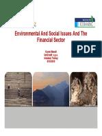Karen Wendt Environmental Social Issues