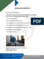 Quemador Industrial Gas Mod 13U