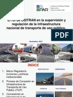 El rol de OSITRAN en la supervisión y regulación de la infraestructura nacional de transporte de uso público.pdf