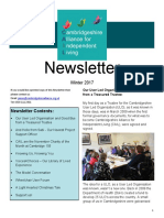 CAIL Winter Newsletter