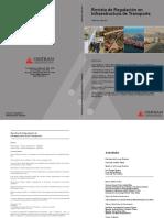 Revista de Regulación en Infraestructura de Transporte
