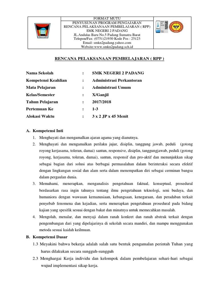 Contoh Soal Administrasi Umum Kelas 10 Dan Jawabannya ...