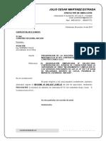 CARTA Nº 013-2017 Adelanto de Materiales 01