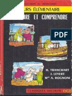 Bien Lire Et Comprendre Cours Elementaire 1963