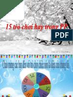 15 Tro Choi Hay Trong PP