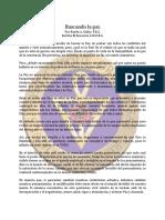 Paz, Buscando La MAY89 - Ruben a. Dalby, F.R.C.