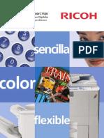 Ricoh Aficio MP C6000 Brochure Espanol