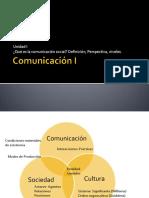 Comunicación I Von Sprecher
