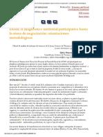 FAO 2003 Desde El Diagnóstico Territorial Participativo Hasta La Mesa de Negociación_ Orientaciones Metodológicas