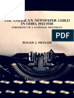 The American Newspaper Guild in Ohio, 1933-1938 | Forefront of a National Movement
