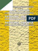 Fao 2003 Reforma Agraria Colonizacion y Cooperativas